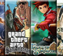 God of War vs Grand Theft Auto: San Andreas vs Tales of Symphonia vs The Elder Scrolls IV: Oblivion 2009