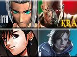 Sephiroth vs Tifa Lockheart vs Kratos vs Jill Valentine 2008