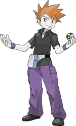 Pokemon Trainer Blue