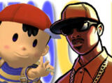 (4)Ness vs (5)Carl Johnson 2005
