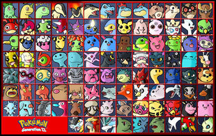 Board 8 Ranks Generation II Pokemon