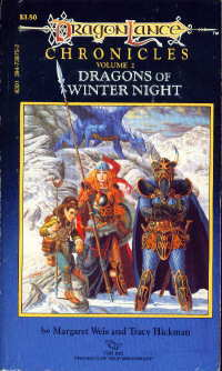 Dragons of Winter Night cover