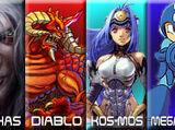 Arthas Menethil vs Diablo vs KOS-MOS vs Mega Man 2007