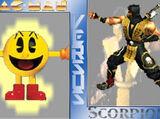 (1)Pac-Man vs (5)Scorpion 2002