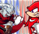 (3)Magus vs (6)Knuckles the Echidna 2005