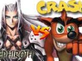 (7)Sephiroth vs (2)Crash Bandicoot 2002