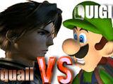 (6)Squall Leonhart vs (3)Luigi 2003