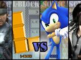 Solid Snake vs L-Block vs Sonic the Hedgehog vs Squall Leonhart 2007