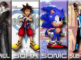Squall Leonhart vs Sora vs Sonic the Hedgehog vs Sub-Zero 2007