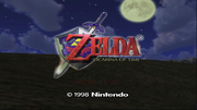 Legend-of-Zelda-Ocarina-of-Time-Title-Screen