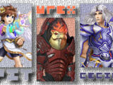 (7)Pit vs (12)Urdnot Wrex vs (21)Cecil Harvey 2013