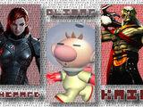 (2)Commander Shepard vs (17)Captain Olimar vs (26)Kain 2013