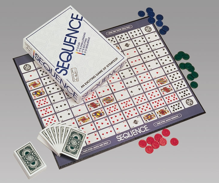 Image result for sequence board game