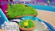 SpongeBob SquarePants Battle for Bikini Bottom Rehydrated - Gameplay Demo Gamescom 2019 HD 1080P