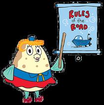 Bob l'éponge Mme Puff
