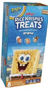 SpongeBob Rice Krispies Treats