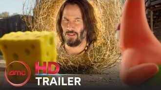 THE SPONGEBOB MOVIE SPONGE ON THE RUN - Official Trailer (Keanu Reeves) AMC Theatres (2020)