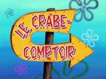 Le crabe-comptoir