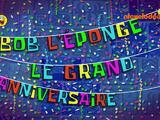 Bob l'éponge : Le grand anniversaire