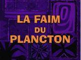 La Faim du Plancton