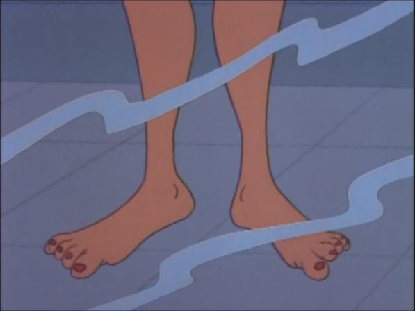 Simcha's Feet