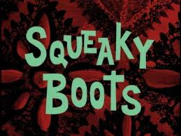 8b Squeaky Boots
