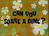 ¿Puede darme una moneda?