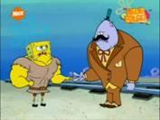 SpongeBob und Werner M. Wahnsinnsfisch