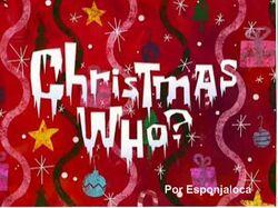 Navidad¿quien?