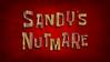Sandy's Nutmare