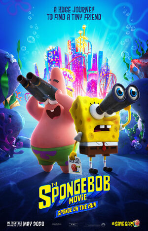 Sponge on the Run poster