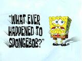 ¿Que fue de la vida de Bob Esponja?