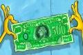 Billete de 500 dolares