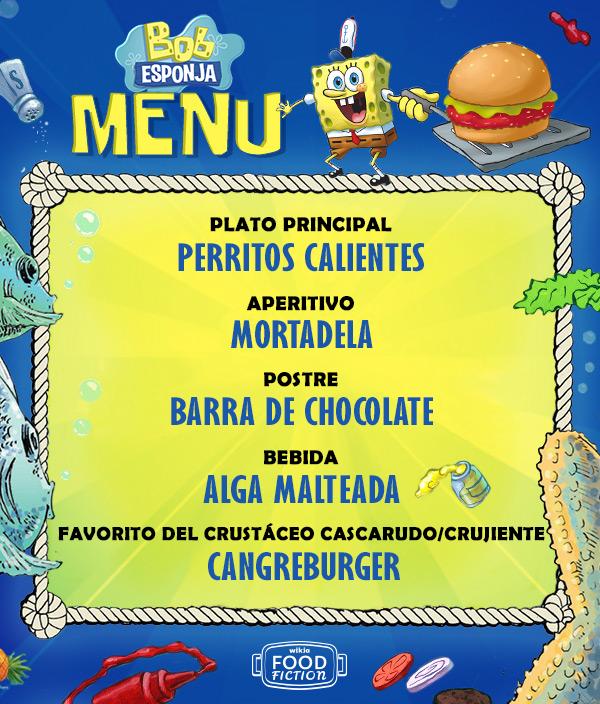 ES FF spongebob menu