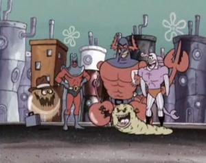 Club de Chicos malos para villanos