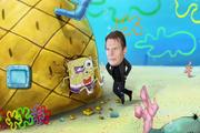 Bob esponja en Llevando a Nemo