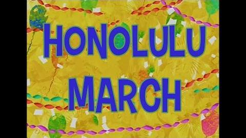 SpongeBob Music Honolulu March-1