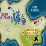 Localizaciones bob esponja