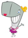 Perla Cangrejo (o Perlita Cangrejo) de Bob Esponja