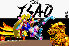 THE ISAO Title Screen