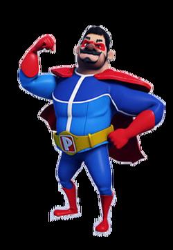 Papa Zola full body BoBoiBoy Galaxy