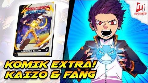 BoBoiBoy Galaxy Comic VOL 7 Komik Extra Kaizo & Fang Promo