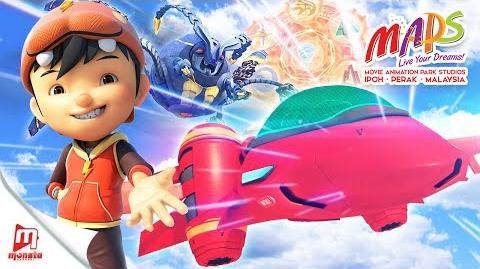 Movie Animation Park Studio ft. BoBoiBoy