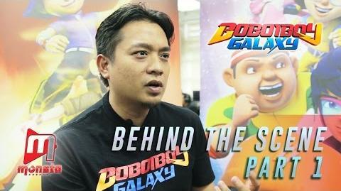 BoBoiBoy Galaxy - Behind The Scene (Part 1)
