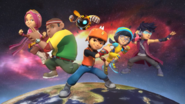 BoBoiBoy Galaxy Teams