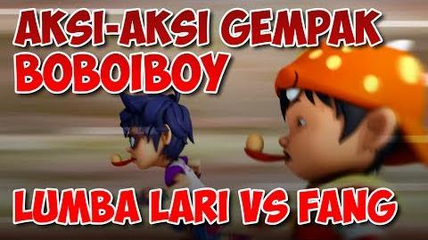 BoBoiBoy Lumba Lari Vs Fang