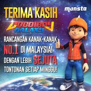 BoBoiBoy Galaxy No.1 Show