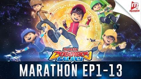 BoBoiBoy Galaxy Marathon - Episod 1 - 13