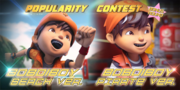 Popularity Contest - BoBoiBoy Beach vs. Pirate ver.