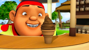 Aiskrim Coklat